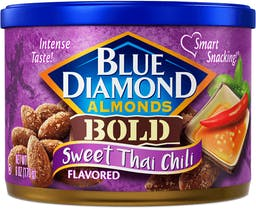 Sweet Thai Chili Flavored Almonds Photo