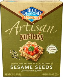 Sesame Seed Artisan Nut Thins Photo
