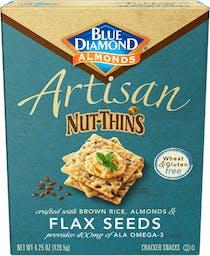 Flax Seed Artisan Nut-Thins Photo
