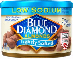 Lightly Salted Low Sodium Almonds Photo