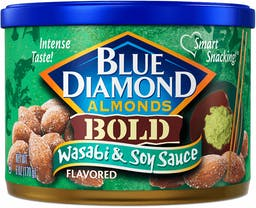 Wasabi & Soy Sauce Flavored Almonds Photo